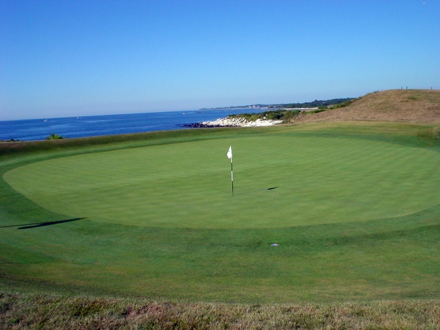 Fishers Island Hole Number 4 Punch Bowl