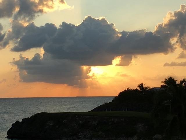 Sunset on Eluthera
