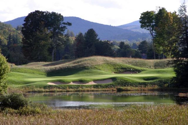 Okemo Valley Golf Club 17th Hole
